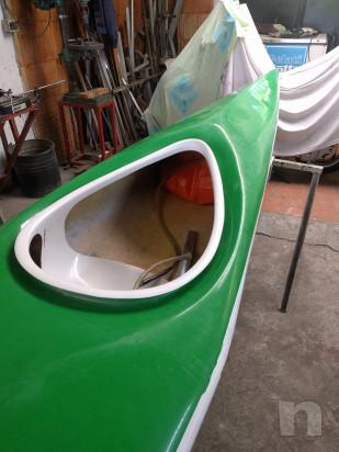 Canoa in vetroresina foto-27691