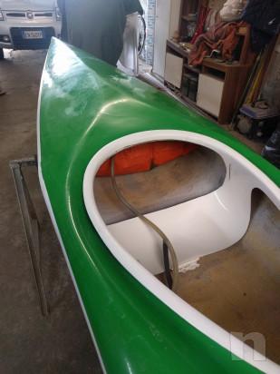 Canoa in vetroresina foto-27692