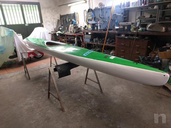 Canoa in vetroresina foto-27694