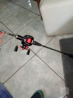 Canna da pesca slow pitc con mulinello foto-14661