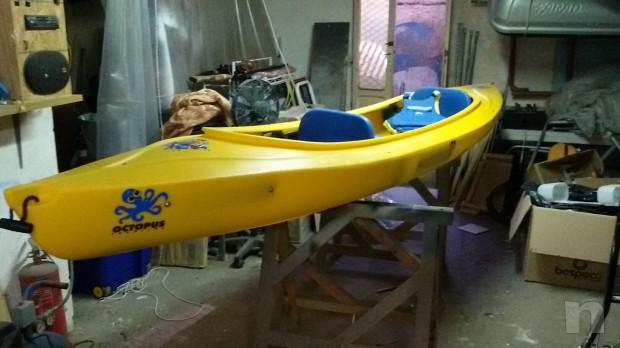 canoa biposto + uno per bambini centrale foto-14662