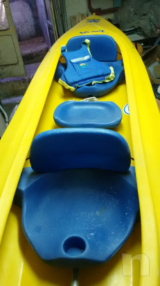 canoa biposto + uno per bambini centrale foto-27703