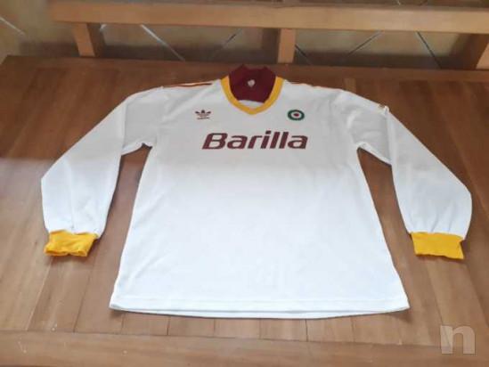Maglia Roma Adidas Barilla 1991/92 foto-14735