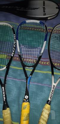 Tre racchette Squash + due custodie foto-27960