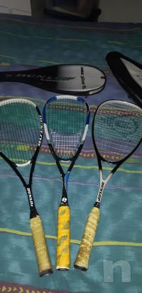 Tre racchette Squash + due custodie foto-14805