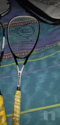 Tre racchette Squash + due custodie foto-27959
