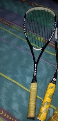 Tre racchette Squash + due custodie foto-27961