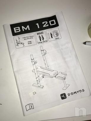 Panca regolabile decathlon Domyos BM120 foto-28397
