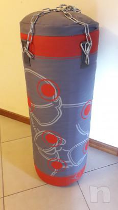 Sacco paracolpi Domyos + kit fissaggio a muro foto-15057