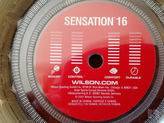 CORDE TENNIS BOBINA WILSON SENSATION 1,30 mm foto-15177