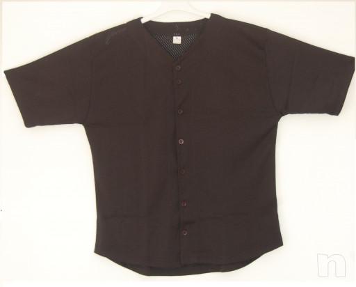 casacca baseball traforata nera  foto-15218