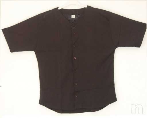 stok casacca baseball traforata nera  foto-15219