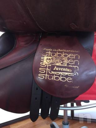Sella Stubben per monta inglese foto-28826