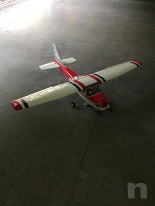 Aeromodello Cessna 182 nuovo pronto al volo foto-15308