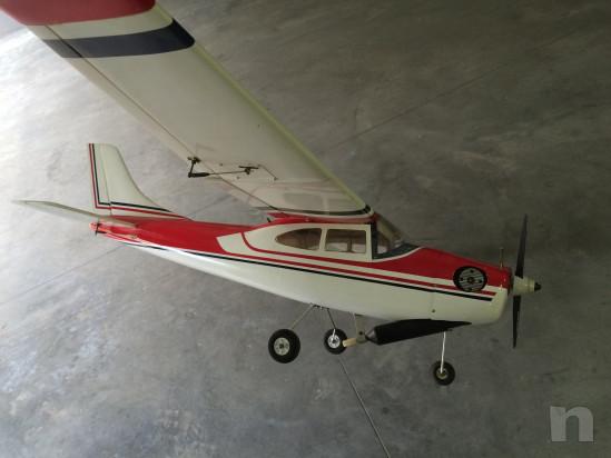 Aeromodello Cessna 182 nuovo pronto al volo foto-28927