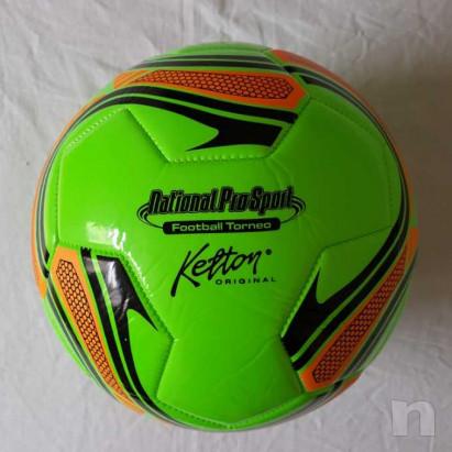 Pallone in cuoio - Verde - Nuovo  foto-29177
