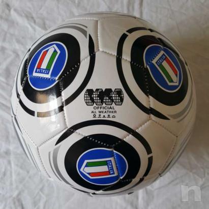 Pallone in cuoio - Italia - Bianconero foto-29195