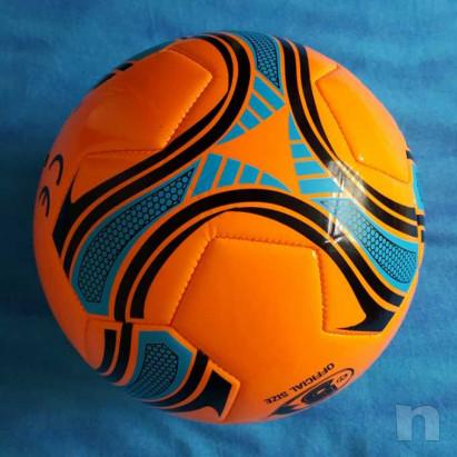 Pallone in cuoio - Arancio fluorescente - Nuovo foto-15438
