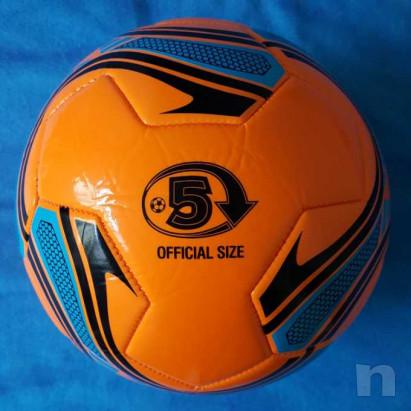 Pallone in cuoio - Arancio fluorescente - Nuovo foto-29199