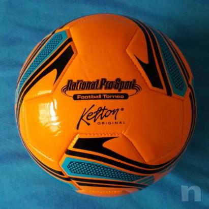 Pallone in cuoio - Arancio fluorescente - Nuovo foto-29200