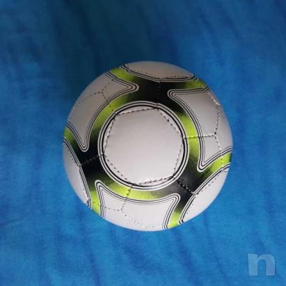 Pallone in cuoio - Biancogiallo - Nuovo foto-15442