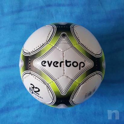 Pallone in cuoio - Biancogiallo - Nuovo foto-29208