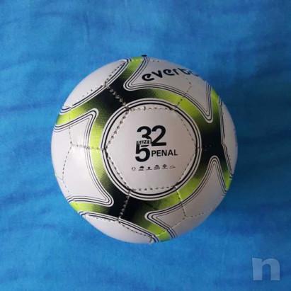 Pallone in cuoio - Biancogiallo - Nuovo foto-29207