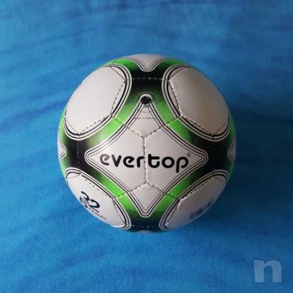Pallone in cuoio - Biancoverde - Nuovo foto-29210