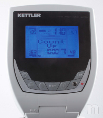 Ellittica Kettler Unix PX portata utilizzatore 140Kg foto-29381