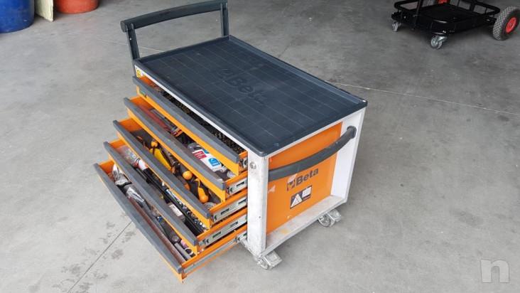 Cassettiera beta CS23ST portattrezzi e portautensili foto-29407