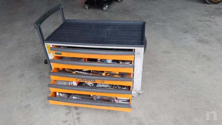 Cassettiera beta CS23ST portattrezzi e portautensili foto-15545