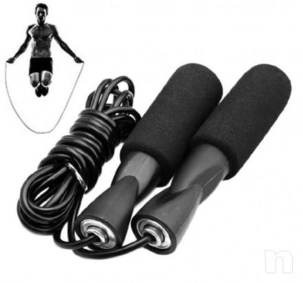 CORDA SALTO Sportech BOXE PUGILATO MMA KICK BOXING JUMP ROPE foto-15557