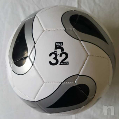 Pallone Mikado Argento - Nuovo e Gonfio foto-29645