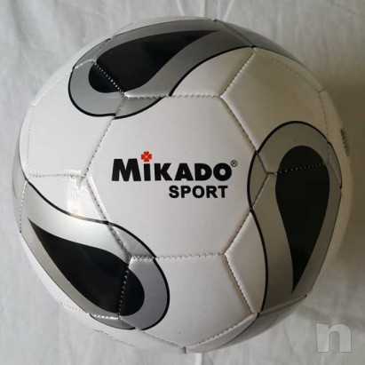 Pallone Mikado Argento - Nuovo e Gonfio foto-15652