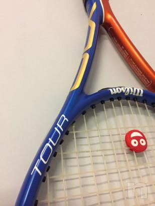 Racchetta tennis Wilson tour Blx nuova foto-29782