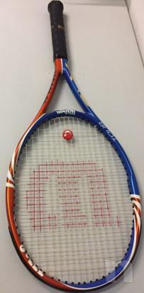 Racchetta tennis Wilson tour Blx nuova foto-29783