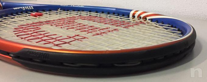 Racchetta tennis Wilson tour Blx nuova foto-29784