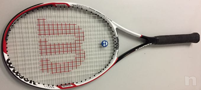 Racchetta tennis wilson exclusive karophite matrix foto-15717