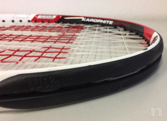 Racchetta tennis wilson exclusive karophite matrix foto-29791