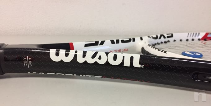 Racchetta tennis wilson exclusive karophite matrix foto-29790
