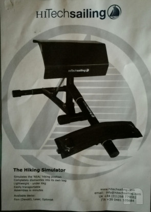 Panca simulatore per cinghie Laser / Finn -  foto-15732