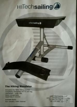 Panca simulatore per cinghie Laser / Finn -  foto-29834