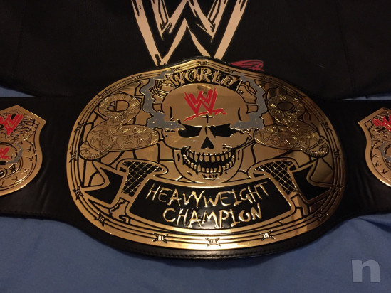 WWE Smoking Skull Replica Belt foto-15743