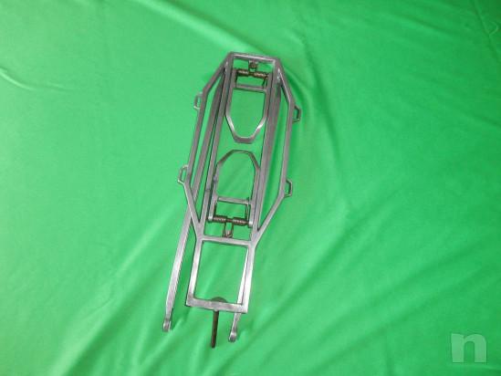 vecchio portapacchi-portagiornali per bici d'epoca foto-15821
