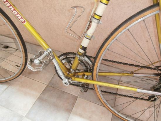 Bici da corsa vecchia  LEGNANO mod.50 per eroica foto-30039