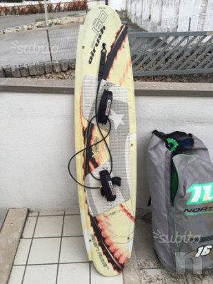 Kite surf tavola airush switch (160*40cm)  foto-1590