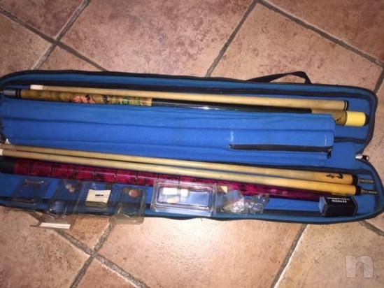 STECCA DA BILIARDO ROGAI professionale biconica 2 pezzi  foto-15905