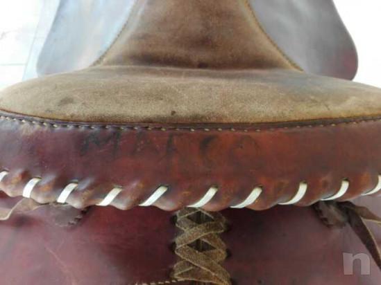 Sella americana Texas One, numerata. Prezzo trattabile. foto-30371