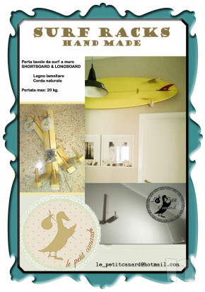 SURF RACKS - Porta tavole da surf a muro foto-15976