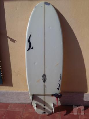"Tavola da surf quad Semente ""Sperm whale"" foto-30569"